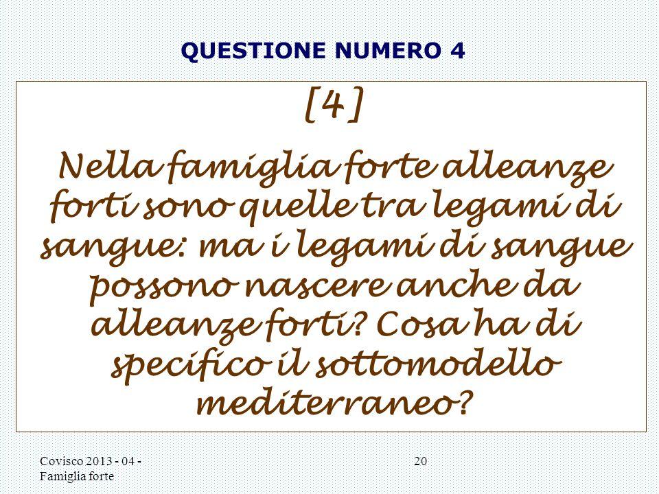 QUESTIONE NUMERO 4 [4]
